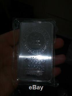 Roayal Canadian Mint 10 oz 99.9999 fine silver bar