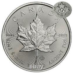 Roll of 25 2017 Canada 1 oz Silver Maple Leaf $5 Coin GEM Brilliant Uncirculated
