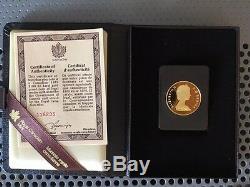 Royal Canadian Mint 1979 22 karat 100 Dollar Gold Proof Coin #116235