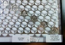 Scalloped Webbing 84 holes Huge Rare Royal Canadian Mint