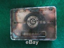 Scarce Vintage Royal Canadian Mint 10 Troy Oz. 999 Silver Bar Toned