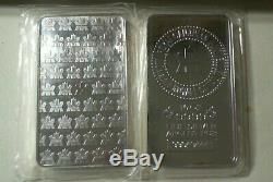 Sealed New Royal Canadian Mint Silver 10 Ounce Bars. 9999 Pure