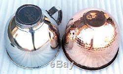 Solid copper Kitchenaid 5 qt. Mixing Bowl Copper Liner/Bowl INSERT for Tilt Head