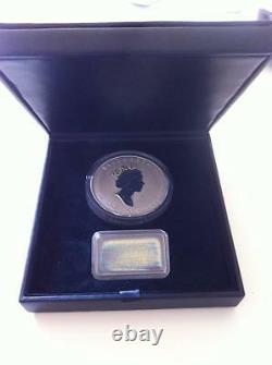 Uncirculated 1998 Royal Canadian Mint $50 Silver 10 Oz 10th Anniversary Coin