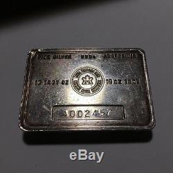 Vintage RCM Royal Canadian Mint 10 oz 999 Silver Bar Scarce