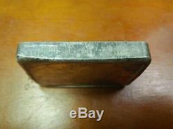 Vintage Rcm Royal Canadian Mint Silver Bar 10 Oz Low Serial Number