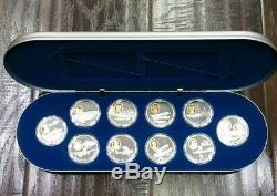 1 $ Can 1 Oz. 925 En Argent Fin De 20 $ Avions D'argent Canada Proof World Coin Lot