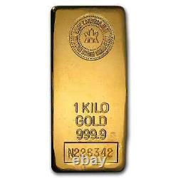 1 Kilo D'or Bar Royal Canadian Mint Rcm