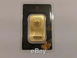 1 Oz Gold Bar Monnaie Royale Canadienne (mrc). 9999 En Fin De Dosage