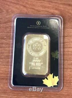 1 Oz Lingot D'or Monnaie Royale Canadienne