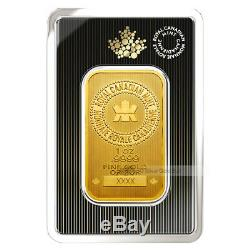 1 Oz Monnaie Royale Canadienne New Style Gold Bar