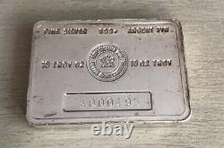 10 Onces D'argent Royale Canadienne Monnaie Bar Rcm Rare Vintage