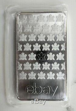 10 Oz. 9999 Argent Royal Bar Ebay Canadian Mint (mrc) Monnaie, Sealed Aucun Retour