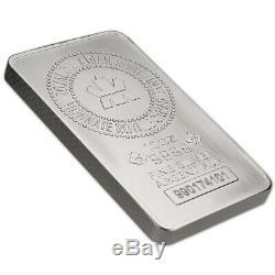 10 Oz Argent (rcm) Silver Bar Monnaie Royale Canadienne Bullion Originale Monnaie Sealed