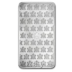 10 Oz Silver Bar Rcm (. 9999 Fine, Nouveau Style) Sku # 83022