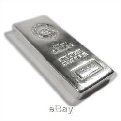100 Oz Monnaie Royale Canadienne Mrc D'argent Bar. 9999 Fin Nouveau