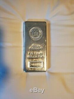 100 Oz Silver Bar Monnaie Royale Canadienne (. 9999 Fin, Pressé)