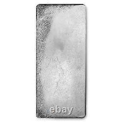 100 Oz Silver Bar Royal Canadian Mint (. 9999 Fine, Pressed Finish)