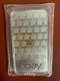 10oz Monnaie Royale Canadienne (mrc) Ebay. 9999 Barre Argentée Scellée Dans Une Manche Protectrice
