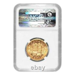 1914 10 $ Réserve Canadienne D'or Ngc Ms-63 Gold Coin