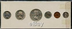 1957 Monnaie Royale Canadienne Ongecirculeerd Silver Proof-like Pl Set