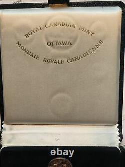 1967 Monnaie Royale Canadienne Canada Centenaire 20 $ Pièce De Monnaie D'or Et D'argent