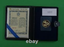 1978 1/2 Oz 22 Karat Gold Proof Coin Monnaie Royale Canadienne