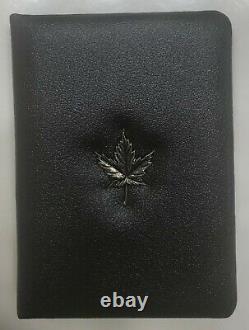 1980 Canadian Maple Leaf/qe II 100 $ 22 Karat 1/2 Once Gold Proof Coin Au Cas Où