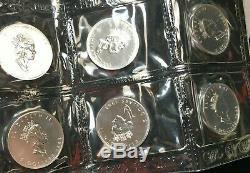 1993 (1) Fiche Non Coupée De 10 $ 5 Ongecirculeerd. 9999 Argent Canadien Maple Leafs