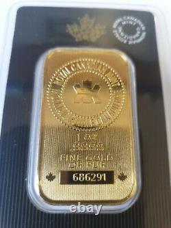 1oz Gold Bar Monnaie Royale Canadienne