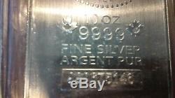 2 × 10 Oz Des Barres D'argent Rcm, Livraison Gratuite