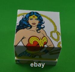2 Silver DC Comic Coins 2016 Wonder Woman & Batman V Superman