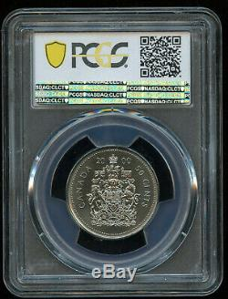 2000p Elizabeth II 50 Cents Pcgs Ms67 Monnaie Royale Canadienne, Km290b 50 Estimé