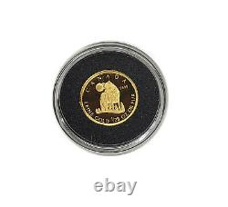 2007 Canada 50 Cents 1/25 Once Gold Coin Wolf
