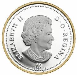 2008 Monnaie Royale Canadienne 100e Ann. Canada Special Edition Silver Dollar -stjh13