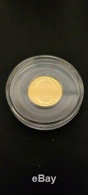 2012 Canada. 9999 Or 1/4 Oz Preuve Limitée Mintage Guerre De 1812 Commémorative