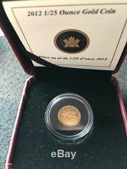 2012rcm, Adieu À La Penny, 1/25 Oz Preuve Pièce D'or