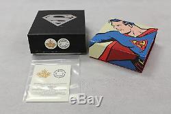 2013 Monnaie Royale Canadienne 75 $ Pièce D'or Superman Les Premières Années