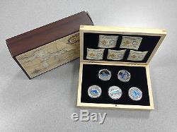 2014/15 Monnaie Royale Canadienne 20 $ Silver Coins La Série Des Grands Lacs