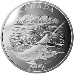 2015 $ Conservation Série 125 Le Narval. 9999 Proof Argent Monnaie 1/2 Kilo