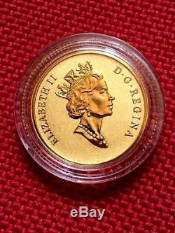 2015 Pure Canada Gold'maple Feuilles De 10 $ Coin Elizabeth II (1990). 2508 Agw