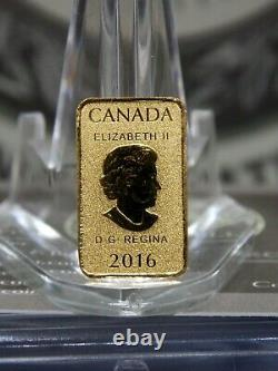 2016 25 $ Royal Canadian Mint Gold Bar 1/10oz. 9999 East Coast Coin & Collectionnable