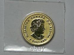 2016 Canada 5 $ Deux Nations Brigade Du Diable Force Spéciale 1/10 Oz 9999 Or