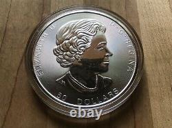 2017 10 Oz. 50 $ Canada Feuille D'érable Silver. 9999 Pièce À Vendre