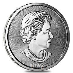 2017 10 Oz. 50 $ Canada Feuille D'érable Silver. 9999 Pièce Pristine État