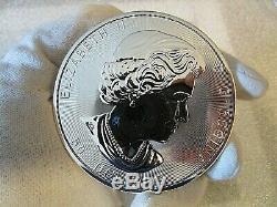 2017 10 Oz D'argent Magnifique Feuille D'érable Coin (bu) (encapsulé)