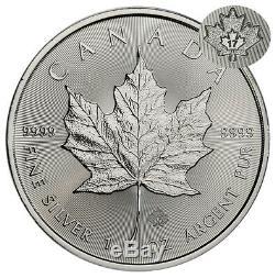 2017 Canada $ 5 1 Oz D'argent Feuille D'érable Rouleau De 25 Pièces Sku44169