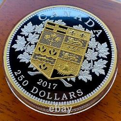 2017 Canada Kilo Commémorant La Première Pièce D'or Canadienne Absolument Époustouflante