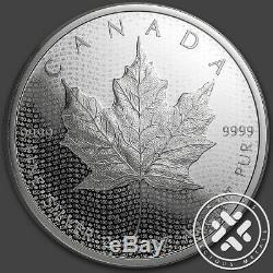 2017 Canada S $ 10 2 Oz 150e Anniversaire D'argent Unifolié Ngc Pf70 Er