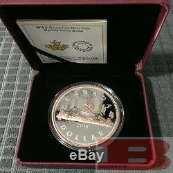 2018 Canada Série Big Coin # 1 Voyageur 1 $ 5 Oz Pure Silver Dollar Avec Rose Gold